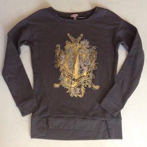 JUICY COUTURE Sweatshirt XS Womens